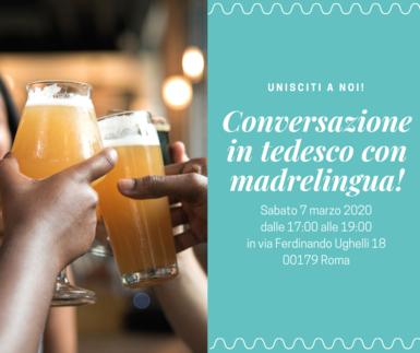 Conversazione in tedesco con madrelingua a Roma